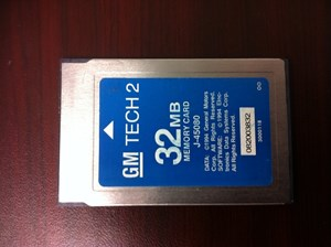 Picture of ORIGINAL TECH 2 32MB TECH2 USA/OEM J-4080 GM SOFTWARE