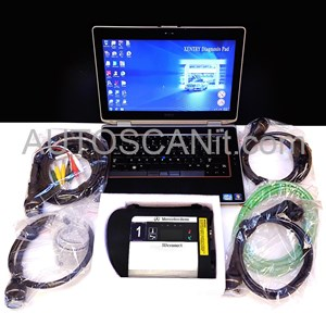 Picture of GERMAN Mercedes SDconnect C4 complete set with laptop